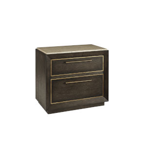 Woodwright Sandstone 34-Inch Nightstand