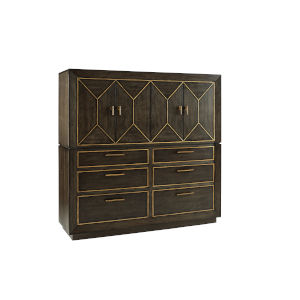 Woodwright Brown 66-Inch Ennis Master Chest