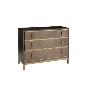 Woodwright Brown 46-Inch Krisel Bachelors Chest