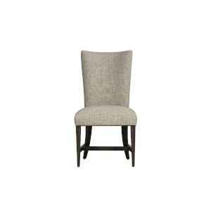 Woodwright Brown 41-Inch Racine Upholstered Side Chair, Set of Two
