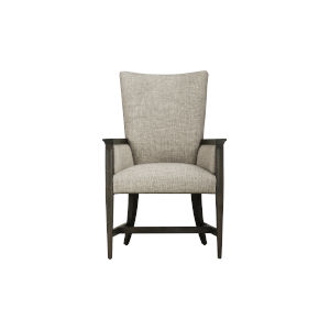 Woodwright Brown 41-Inch Racine Upholstered Arm Chair, Set of Two