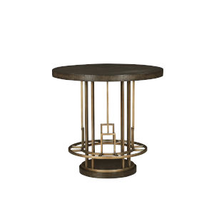 Woodwright Brown 20-Inch Meyer Pub Table