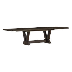 Woodwright Brown 50-Inch Oak Park Dining Table