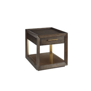 Woodwright Brown 24-Inch Balch End Table