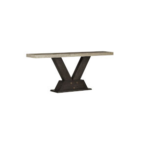 Woodwright Brown 37-Inch Breuer Console Table