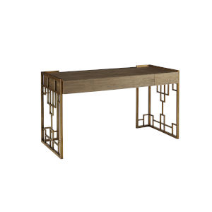 Woodwright Champagne 55-Inch Wexler Writing Desk