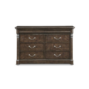 Landmark Mocha 65-Inch Dresser