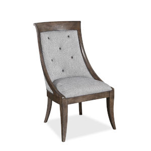 Landmark Mocha 42-Inch Tufted Sling Chair, Set of Two