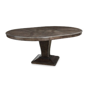 Landmark Mocha 55-Inch Round Dining Table