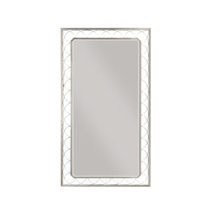 La Scala Nickel 82-Inch Floor Mirror