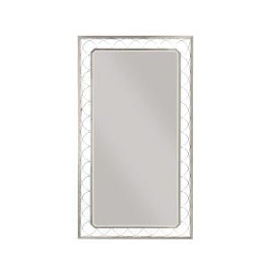 La Scala Nickel 82-Inch Floor Mirror