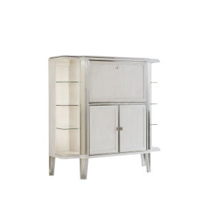 La Scala Ivory 61-Inch Bar Cabinet