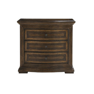 Kingsport Medium Oak 31-Inch Three-Drawer Nightstand