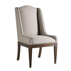 Kingsport Medium Oak 44-Inch Host Chair, Set of Two