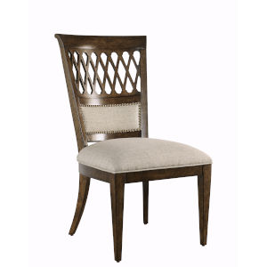 Kingsport Medium Oak 41-Inch Side Chair, Set of Two