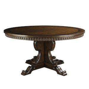 Kingsport Medium Oak 60-Inch Round Dining Table