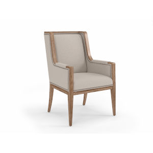 Passage Light Oak and Gray Host Chair