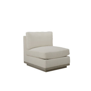Epicenters 33127 Upholstered Gray Wash 20-Inch Cruz Armless Chair
