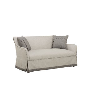 American Chapter Gray 68-Inch Settee