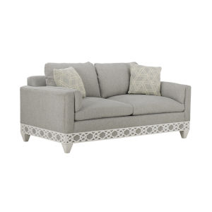 Summer Creek Harbor White 75-Inch Hatteras Spa Studio Sofa