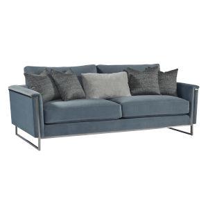 La Scala Nickel 86-Inch Frame Sofa