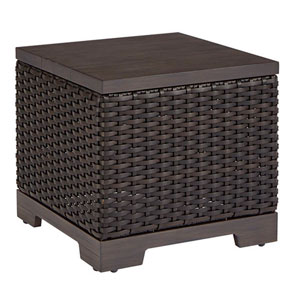 Brannon Wicker Outdoor End Table