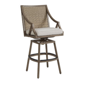 Summer Creek Pampas 23-Inch Outdoor Bar Stool