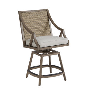 Summer Creek Pampas 23-Inch Outdoor Stool