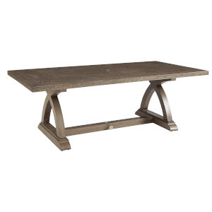 Summer Creek Pampas 84-Inch Outdoor Rectangular Dining Table