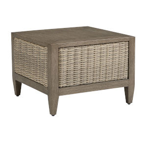 Summer Creek Pampas 25-Inch Outdoor End Table