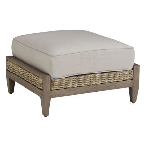 Summer Creek Pampas 30-Inch Outdoor Ottoman