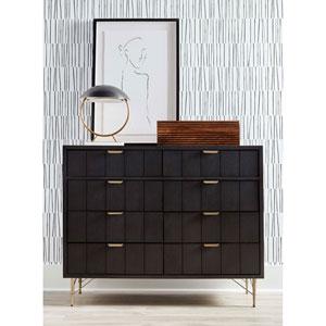 Dark Gray 50-Inch Lehn Double Dresser