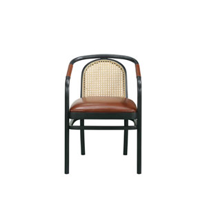Dark Gray 22-Inch Moller Arm Chair