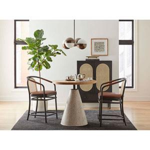 Dark Gray 44-Inch Moller Bar Chair