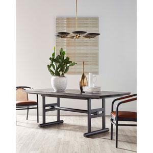 Dark Gray 86-Inch Dining Table