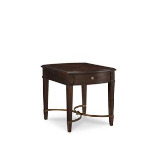 Intrigue Grey Flip Top End Table