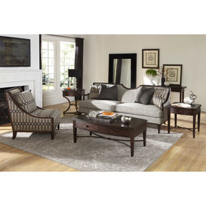 Intrigue Hardwood Laminate Loveseat