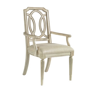 Provenance Pine Oval Back Design Arm Chair