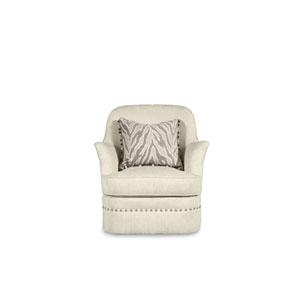 Amanda Ivory Swivel Chair