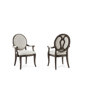 St. Germain Oval Back Arm Chair- Set of Two