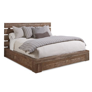 Epicenters Eastern King Williamsburg Platform Storage Bed
