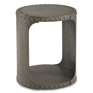 Epicenters Williamsburg Metal End Table
