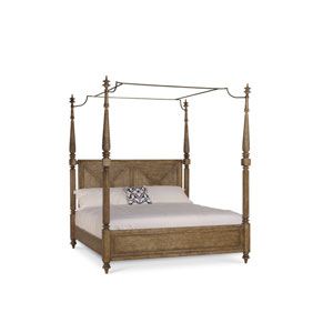 Pavilion Queen Poster Bed with Posts