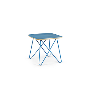 Epicenters Austin 6th Street Blue End Table
