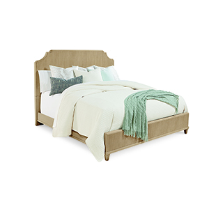 Roseline Queen Georgia Panel Bed