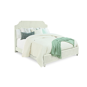Roseline King Georgia Panel Bed