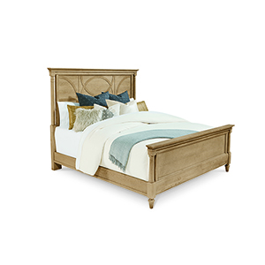 Roseline King Isla Panel Bed