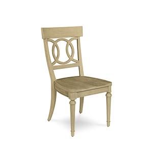 Roseline Sophie Wood Seated Side Chair