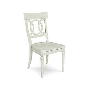Roseline Sophie Wood Seated Side Chair