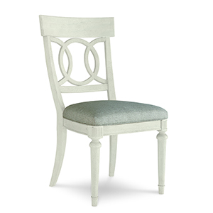 Roseline Sophie Fabric Seated Side Chair
